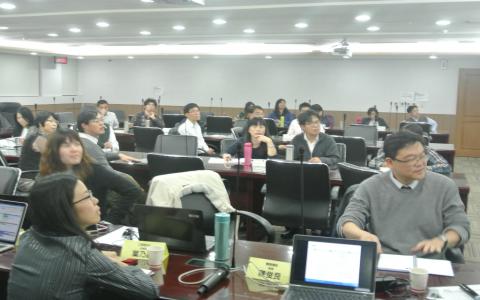 關貿網路與財政資訊中心座談會